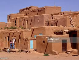 Pictures Of Adobe Houses by Usa New Mexico Taos Taos Pueblo Adobe Houses Stock Photo Getty