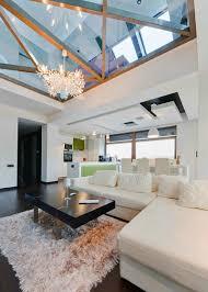 100 In Situ Architecture ModernGlassHouseinRomaniabyArchitectLivingRoom