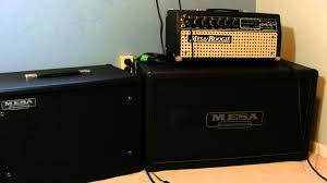 Mesa Boogie Cabinet Dimensions by Mesa Boogie Mark Iii Head And 1x12 Cabinet Youtube