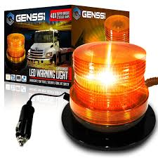 100 Strobe Light For Trucks Amazoncom GENSSI LED Beacon Roof Tow Truck 3 Function