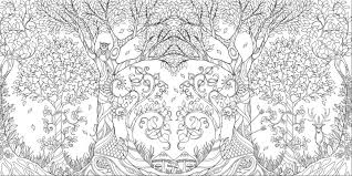 Coloring Pages Johanna Basford Enchanted Forest Secret Garden Addictive