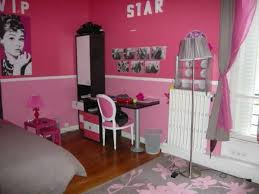 deco chambre girly girly newyork room idee deco chambre fille gris et rose3 idee deco