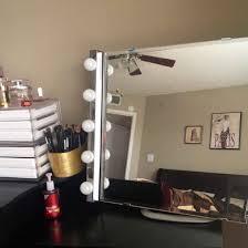 ikea makeup storage best lighting for table bedroom vanity lights