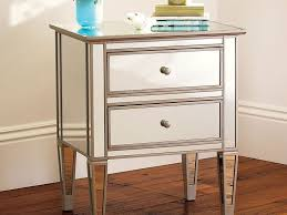 Z Gallerie Glass Dresser by Furniture 93 Borghese Mirrored Nightstand Mirrored Nightstand
