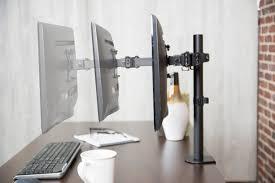 Vesa Desk Mount Arm by Stand V101 Full Motion Single Vesa Computer Monitor Desk Mount