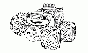 Download Blaze Coloring Pages Awesome Monster Truck Mater Page Style ...
