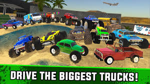 100 Biggest Monster Truck XT Airport Derby For Android APK Download