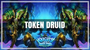 hearthstone token druid deck testing w crypt lord knights of