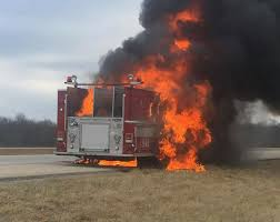 NFD Firetruck Destroyed In Fire On I-74 | Govt-and-politics ...