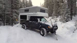 100 Toyota Tacoma Truck Camper Orwhat Id Like To Try In The Dead Of Winter