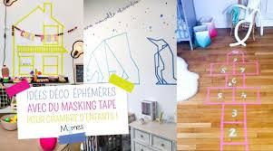 deco chambre d enfants 10 idées déco avec du masking pour la chambre des enfants