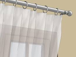 curtains how to hang a curtain rod without brackets different