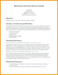Maintenance Resume Samples For Technician Supervisor Budget Reporting Electrical Examples
