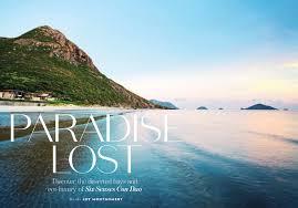 100 6 Senses Con Dao Six Paradise Lost