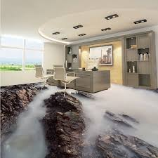 Free Shipping Cloud Sea Mountain Stone 3d Living Room Bathroom Floor Self Adhesive Square Bedroom Coffee House Flooring Mural In Wallpapers From Home