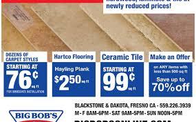 Big Bobs Flooring Stockton by Big Bob S Carpet Fresno California Carpet Vidalondon