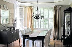 Drapes For Formal Dining Room Curtains Silk