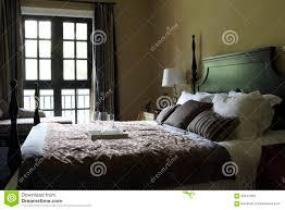 das typische amerikanische schlafzimmer stockbild bild