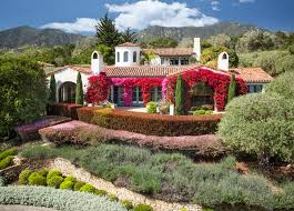 Stunning Images Mediterranean Architectural Style by Stunning Mix Of Bougainvillea Vines Adorn The Outside Of This