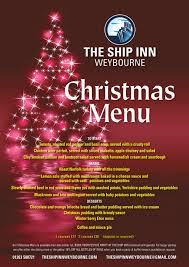 Winterberry Christmas Tree by The Ship Inn Weybourne Norfolk Real Ales Cask Marque