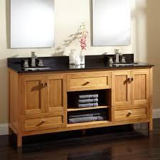 72 Inch Double Sink Bathroom Vanity by Bathroom Elegant Monace Double Sink Bathroom Vanity Set In Black