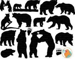 Bear Cub Clipart Daddy 1