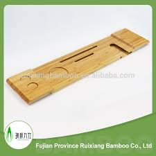 Bamboo Bathtub Caddy With Wine Glass Holder by Bathtub Caddy Bathtub Caddy Suppliers And Manufacturers At