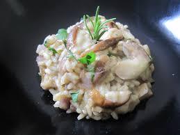 cuisiner cepes frais risotto aux cèpes et herbes fraîches appuntamento in cucina