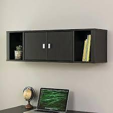 Black Storage Cabinets Decoration Closed Cabinets fice Desk