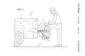 GM Patents A Large Fold-Down Tailgate Step: Is It Too Complex Or Too ...