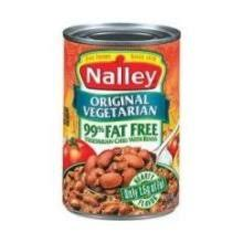 NalleyR Original Vegetarian Chili With Beans 14 Oz Cans Pack Of 16