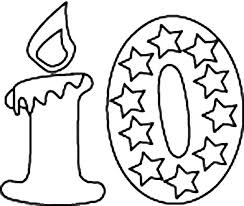 coloring pages numbers 1 0 birthday candle number coloring page numbers 0 10 coloring pages