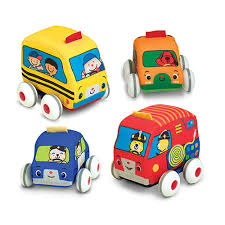 100 Little Sisters Truck Wash Amazoncom Melissa Doug PullBack Vehicles Soft Baby And Toddler