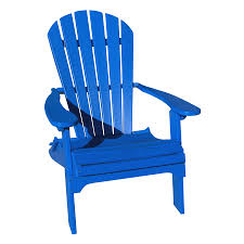 Lowes Canada Adirondack Chairs by Shop Phat Tommy Marina Blue Recycled Poly Folding Patio Adirondack