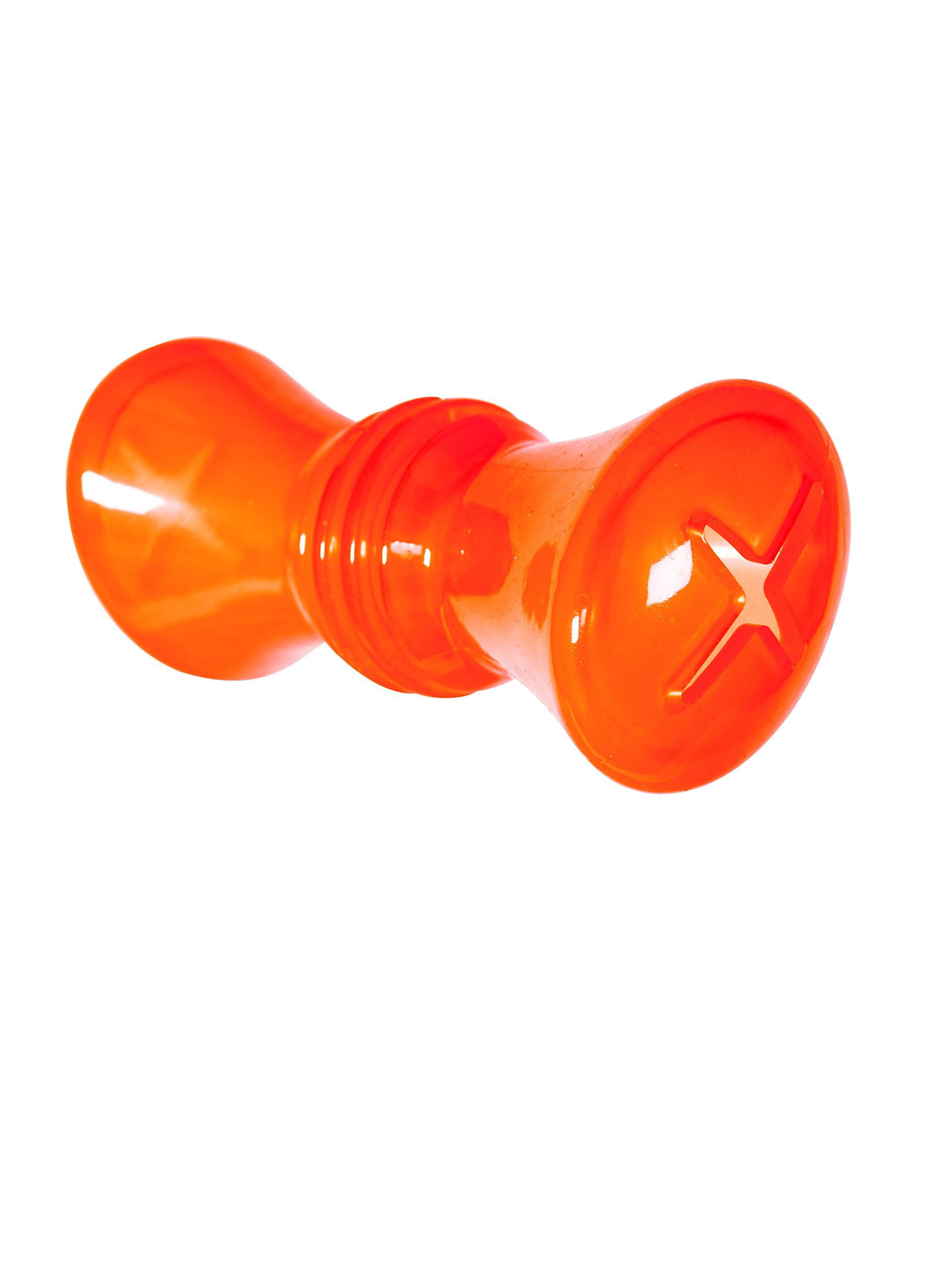 Hero Soft Rubber Treat Dispensing Drum Dog Toy