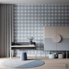 Minimalist Layout With Quirky Twists And Patterns Wall