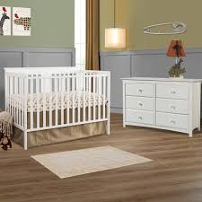 Storkcraft Dresser Change Table by Storkcraft 2 Piece Nursery Set Mission Ridge Convertible Crib