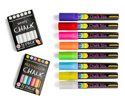 100 Chalks Truck Parts Amazoncom Chalk Markers By Chalk Stix 8 Neon Liquid Pens And 24