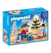 playmobil playmobil bouwspellen weihnachtliches wohnzimmer