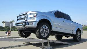 Ford Atlas Concept Truck Driving Into Transporter - YouTube
