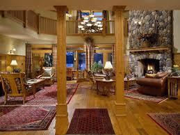 Warm Look Of Lodge Decor Unique Hardscape Design