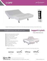 Leggett And Platt Bed Frame by Leggett U0026 Platt Adjustable Bed 3 Inch Riser Legs Set Of 4 Black