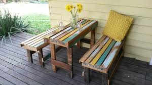 Pallet Patio Furniture Plans by Collection In Pallet Patio Furniture Wooden Pallet Recycled Plans