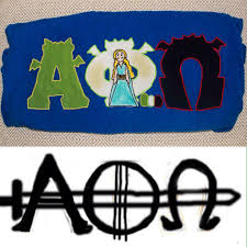 Alpha Phi Omega Letter Stencil With Letters Plus Solicitation