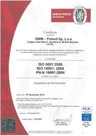 bureau veritas benin certifications and policy statements swm