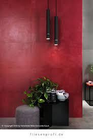 wandfliese zementoptik rot matt 40x80cm boost 8b8r