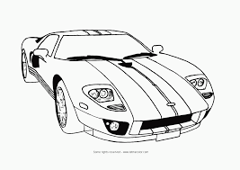 Car Coloring Pages With Cars
