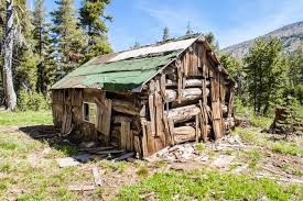 Old Cabin just off of the Rubicon River in Desolation Wilderness
