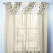 Brylane Home Sheer Curtains by Chantelle Rod Pocket Curtain Panel Gordyne Pinterest Rod