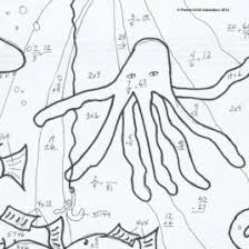 Free Printable Coloring Math Worksheets For 3rd Grade